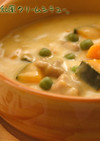 米粉と豆乳の和風クリームシチュー。