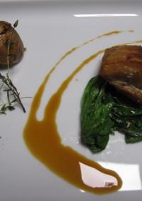 豚バラ肉 の コンフィー