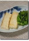 カマンベール風?塩麹漬け焼き豆腐ステーキ