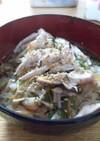 ☆塩鶏スープかけ雑穀ご飯☆