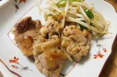 鶏もも肉の粒マスタード醤油焼き