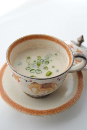 えのき氷を使った クリームスープ