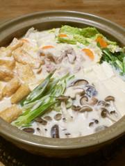 胡麻✤豆乳鍋の写真