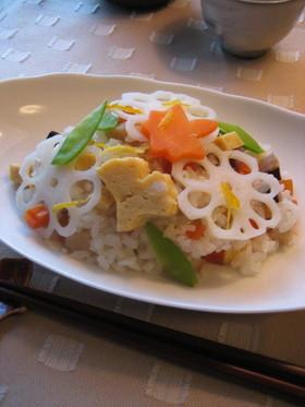 おばあちゃん直伝・五目ちらし寿司