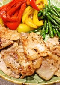 クミン香る❤豚肉のナンプラーソテー