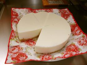水切りヨーグルトでレアチーズケーキ風