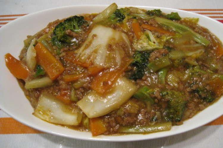 マーボー 白菜