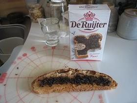 オランダの朝ご飯の定番ハーゲルスラッグ