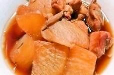 鶏むねと大根のこっくり煮