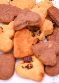 ヘルシーおからのクッキーバター少な目
