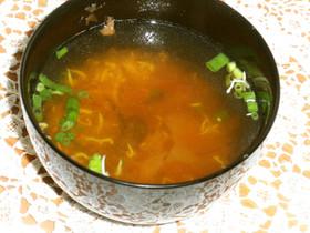 ふわふわしらすの梅☆生姜風味おすまし
