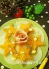 スパイスたっぷり☆柿の前菜*。*。*。*