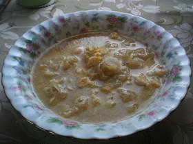 白きくらげのスープ