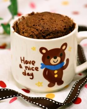 レンジで超簡単♡マグカップケーキ