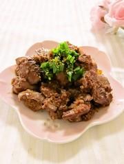定番☆レバーの甘辛コチュジャン煮の写真