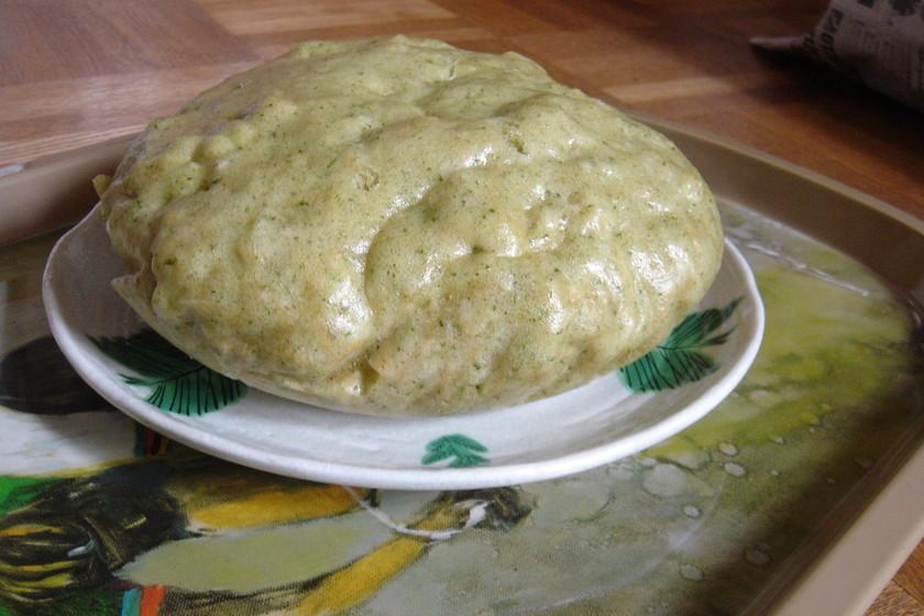☆もちもち!ヨモギの大きな蒸しパン☆
