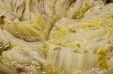 塩豚と白菜のミルフィーユ鍋