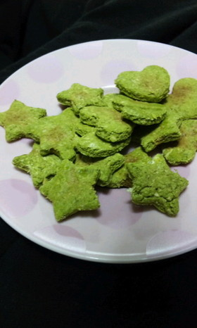 レンジで★おからクッキー