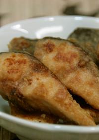 皮も美味しい☆鯖の竜田~辛子醤油風~