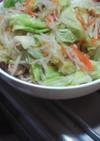 マロニー入り野菜炒め