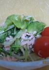 ★レタスと水菜の簡単サラダ★