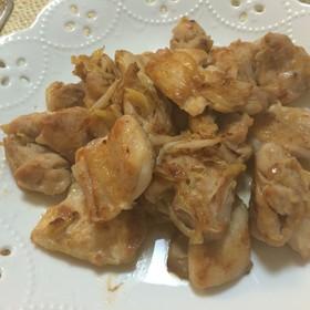 鶏肉のネギ塩ニンニク焼き