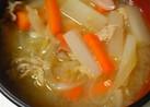 豚汁★ごま油&生姜風味★簡単