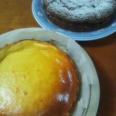 ちょっとヘルシー ベイクドチーズケーキ