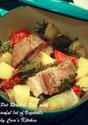 キャベツとろとろ☆豚バラと野菜の蒸し煮