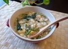 蟹と豆腐の中華ポタージュ風スープ