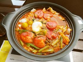 ♡キムチ&トマトの美味し~お鍋♡