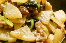 ✽シャキシャキ大根と小松菜の牛肉炒め✽