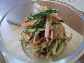 切り干し大根の中華風サラダ