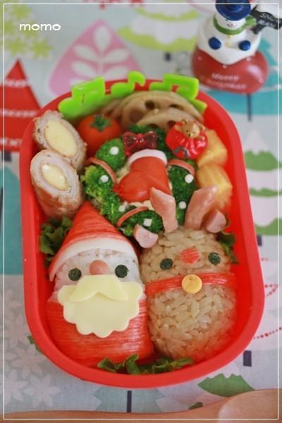 クリスマス♡キャラ弁*サンタ&トナカイ