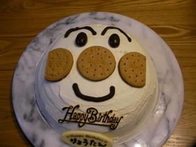 贅沢☆ドームケーキでアンパンマン!!