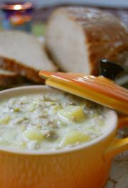 長ネギた~っぷりスープ☆ドイツ家庭料理の写真