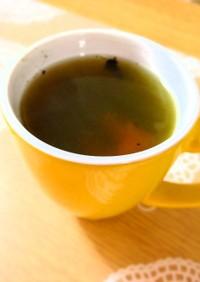 喉の痛みに焼き梅干し緑茶