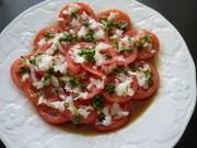 玉ねぎドレッシングで! トマトサラダ♡の写真