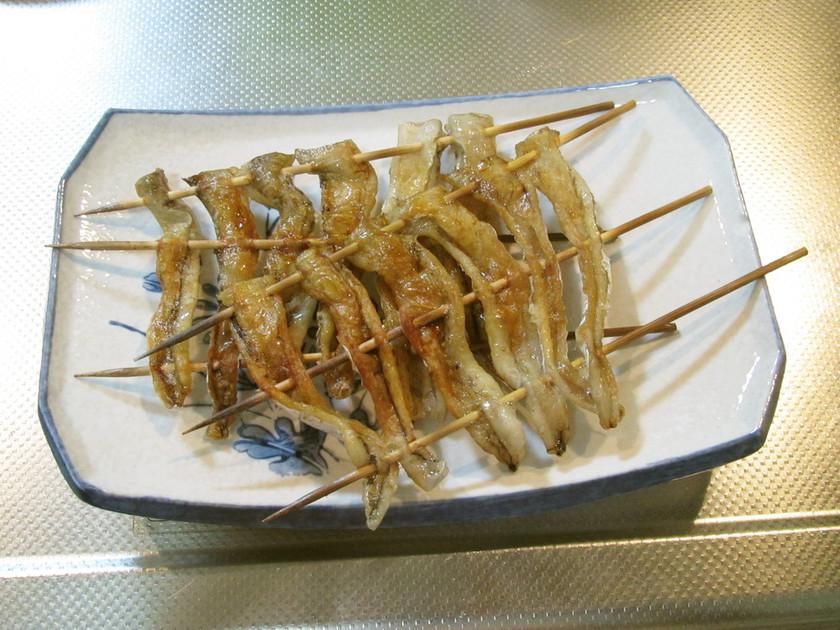 タチウオの腹身で 最高の串焼き