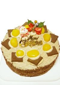 栗とモカの マロン モンブラン ケーキ♪