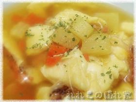 ★洋風潮汁★オニカサゴのサフランスープ