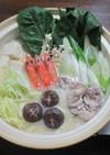 ゴマ味噌鍋(丹治鍋だし版!)