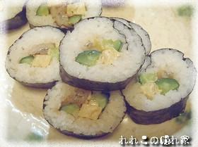 ★おもてなしにも★煮タチウオの巻き寿司