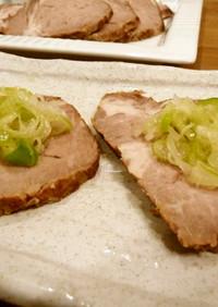 ネギ塩☆お肉がアッサリ食べられます!