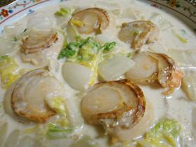 簡単ほくほく✿白菜とホタテのクリーム煮✿