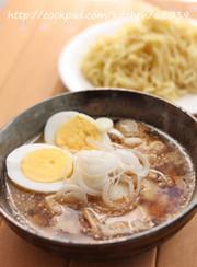 【簡単】インスタントラーメンでつけ麺☆の写真