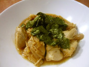 鶏胸肉とえのきのわさび醤油炒めの写真