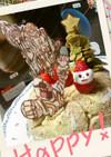 仮面ライダーフォーゼクリスマスケーキ