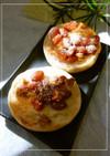 金時豆×胡桃のトースト チーズ生姜風味