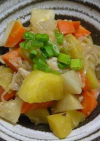 サツマイモ味噌煮